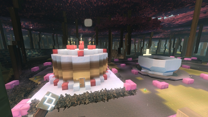 1 cake build on Lleb