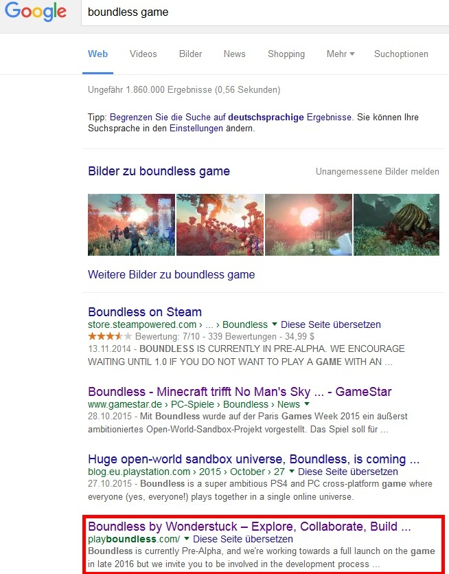 Google Search Support Boundless Community - Minecraft explore spiele