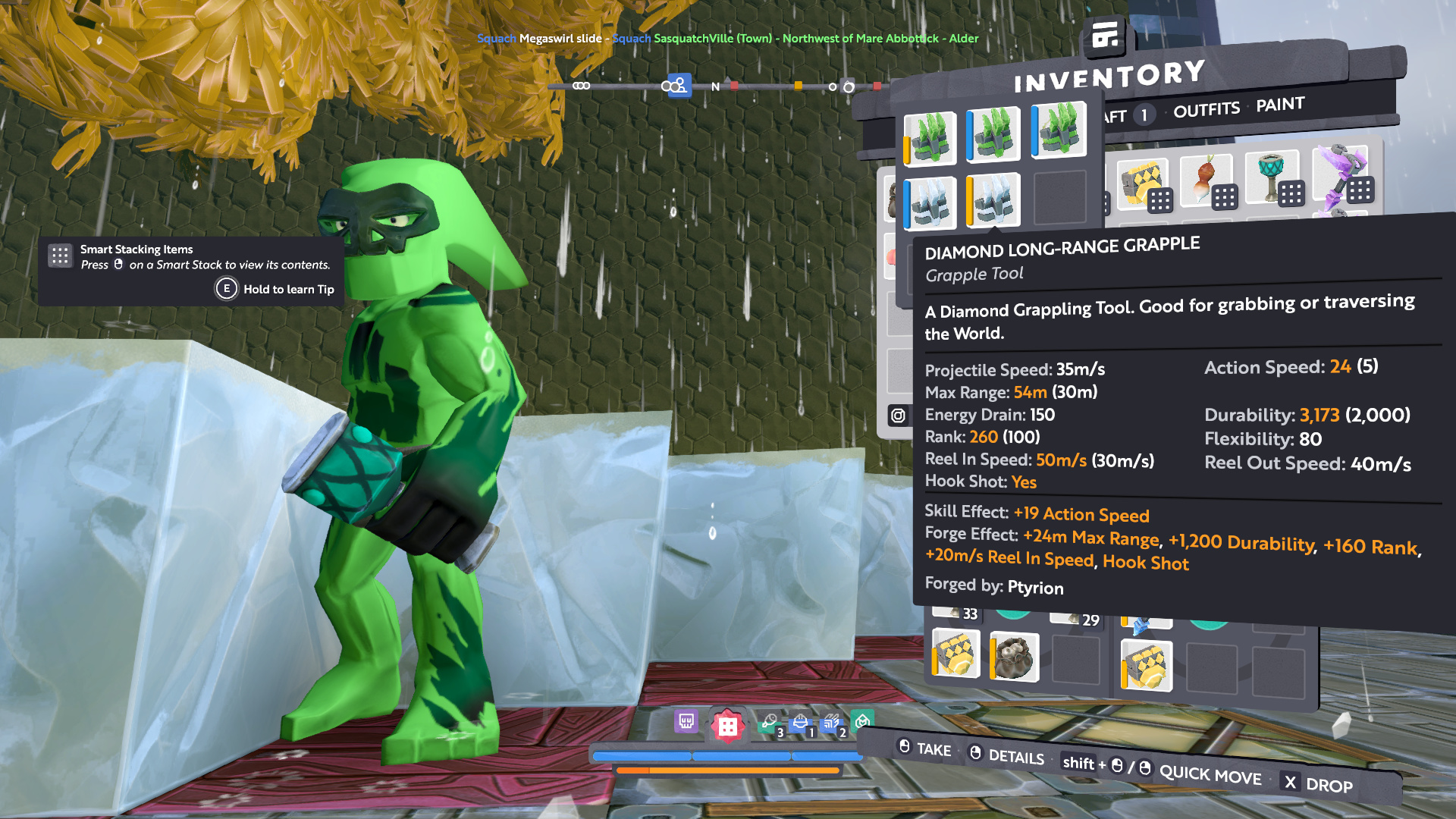 Completed- 50k Grand Prize Ice Grappling race, time attack