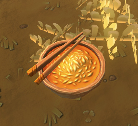 bowls of grains in game