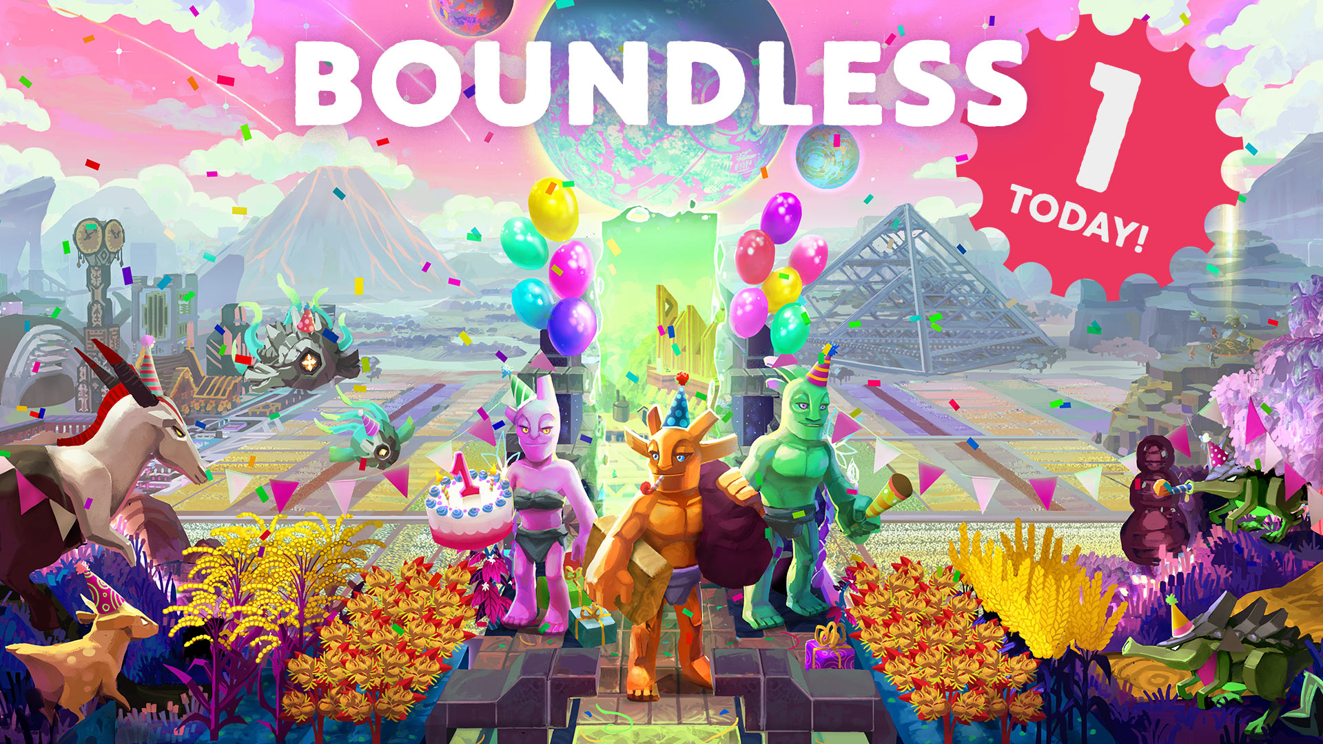 One Whole Year Of Boundless Thank You To Our Amazing Community