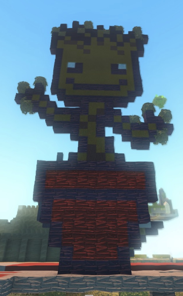 Free To A Good Home Baby Groot Pixel Art General