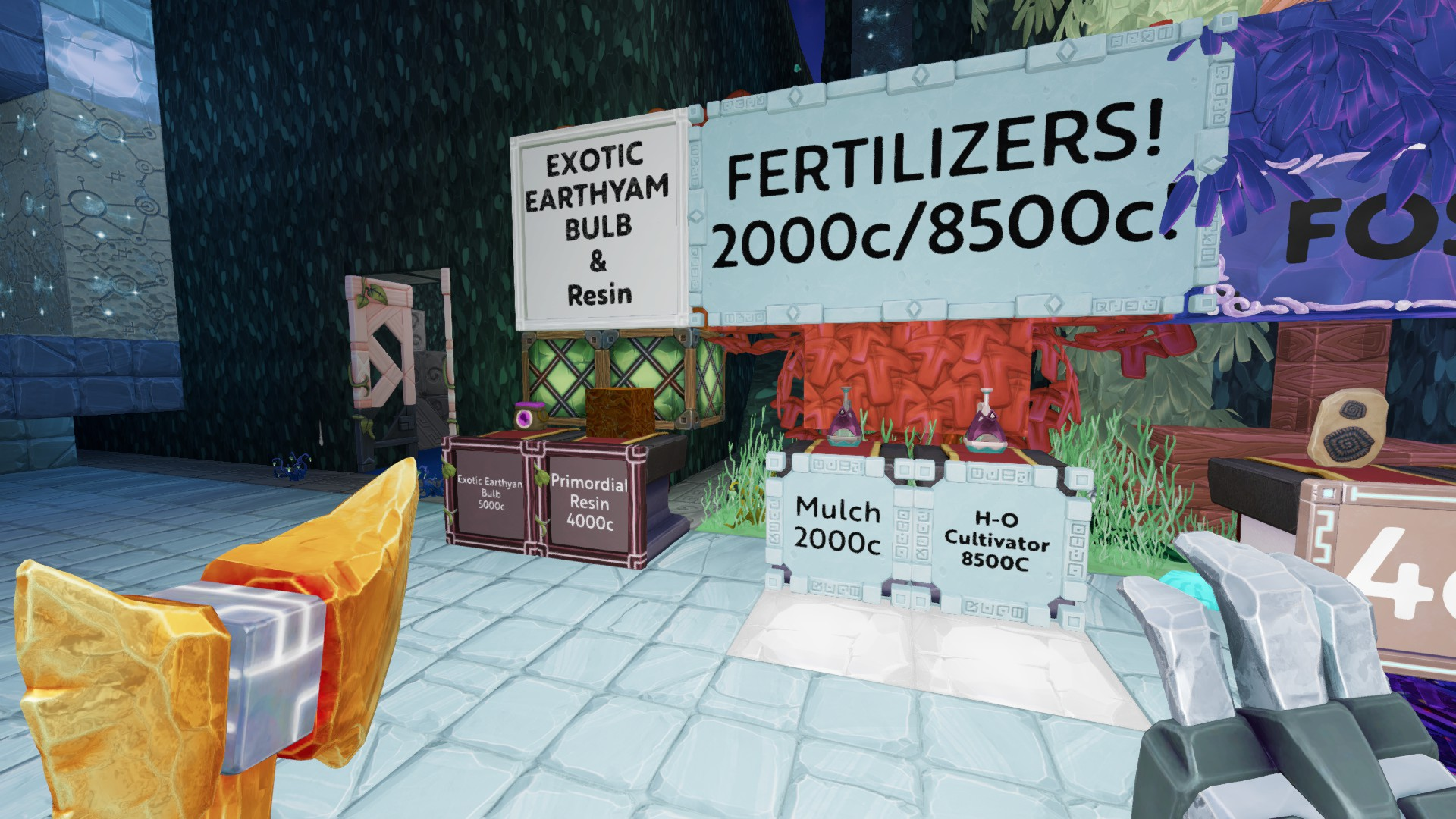 Fertilizers! Now Resin and Exotic Yam Bulbs in stock! - Trading